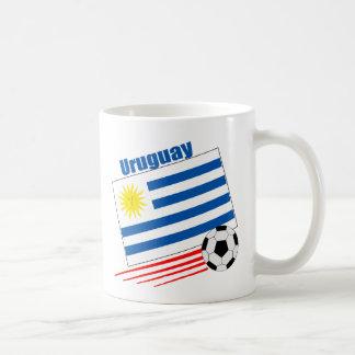 Uruguay Soccer Team Basic White Mug