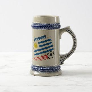 Uruguay Soccer Team Beer Steins