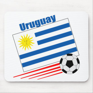Uruguay Soccer Team Mouse Pad