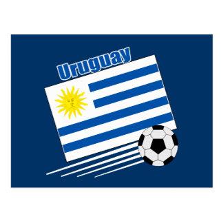 Uruguay Soccer Team Postcard