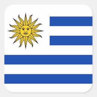 Uruguay Square Sticker