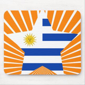 Uruguay Star Mousepad