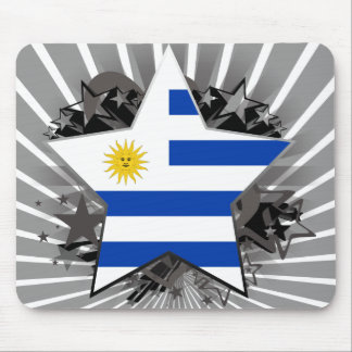 Uruguay Star Mouse Pads