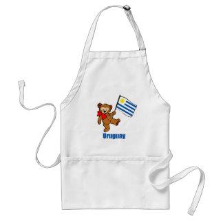 Uruguay Teddy Bear Apron