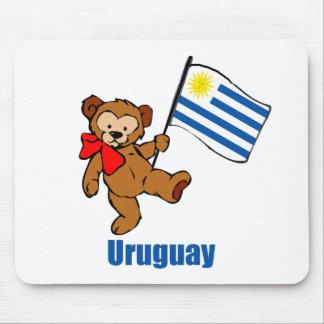 Uruguay Teddy Bear Mouse Pad