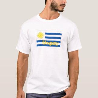 Uruguay uruguayan flag souvenir t-shirt