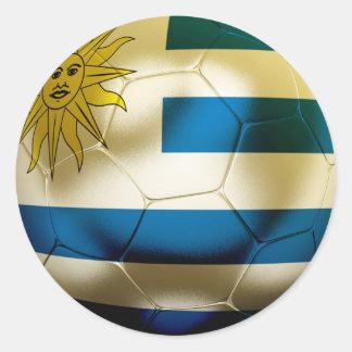 Uruguay World Classic Round Sticker