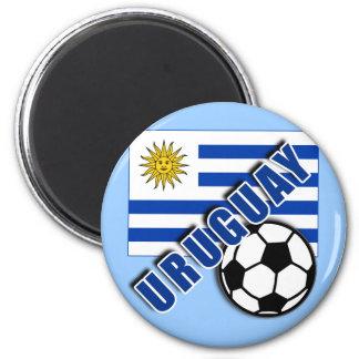URUGUAY World Soccer Fan Tshirts Refrigerator Magnet