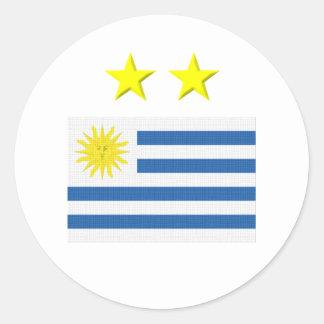 Uruguayan Footie Sticker