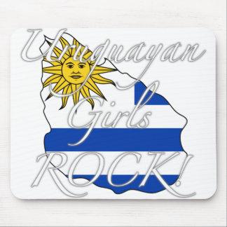 Uruguayan Girls Rock! Mouse Pad