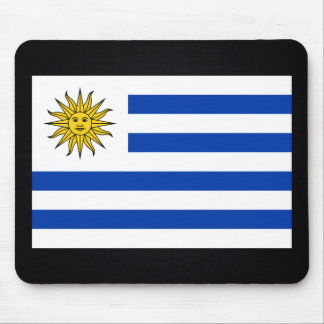 Uruguayan National flag of Uruguay-01.png Mouse Pad