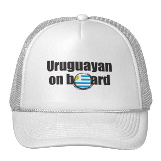 Uruguayan on Board Cap