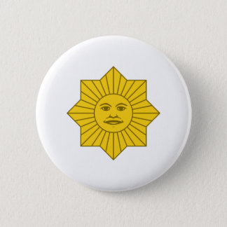 Uruguayan Sun of May 6 Cm Round Badge