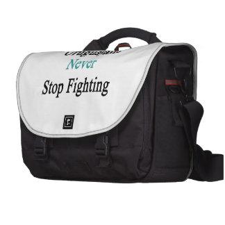 Uruguayans Never Stop Fighting Laptop Computer Bag