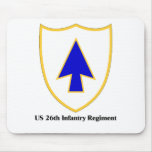 US 26th Infantry Regiment Mouse Pads
