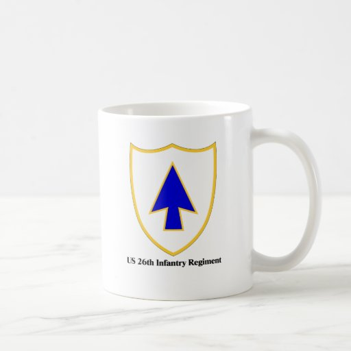 US 26th Infantry Regiment Mugs