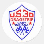 us 30 dragstrip sticker