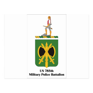 US 785th Military Police Battalion Postcards