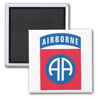 US 82nd Airborn Square Magnet