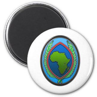 US Africa Command 6 Cm Round Magnet