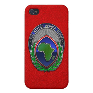 US Africa Command iPhone 4 Cases