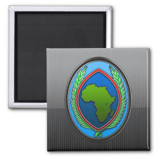 US Africa Command Square Magnet