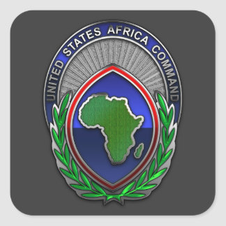 US Africa Command Square Sticker