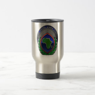 US Africa Command Stainless Steel Travel Mug