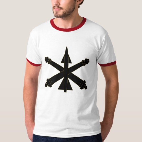 US AIR DEFENSE ARTILLERY INSIGNIA SUBDUED SPORT T-Shirt