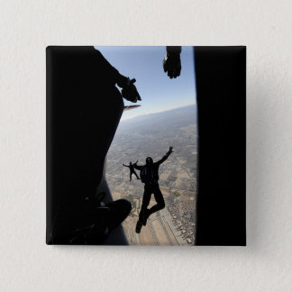 US Air Force Academy Parachute Team 15 Cm Square Badge