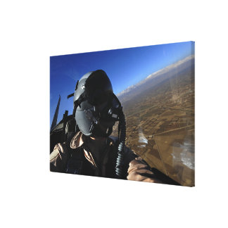 US Air Force Aerial Combat Photographer Canvas Print
