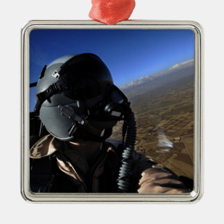US Air Force Aerial Combat Photographer Christmas Ornament