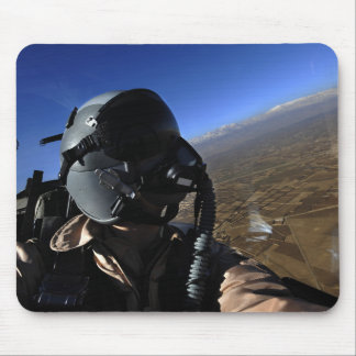 US Air Force Aerial Combat Photographer Mouse Mat