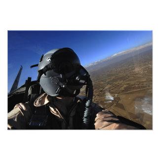 US Air Force Aerial Combat Photographer Photo Print