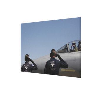 US Air Force Airmen Canvas Print