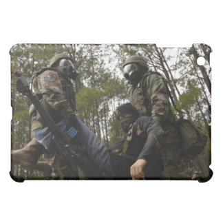 US Air Force Airmen carry a simulated casualty iPad Mini Cases