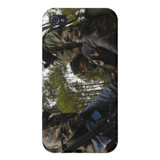 US Air Force Airmen carry a simulated casualty iPhone 4/4S Case
