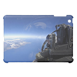 US Air Force captain looks out over the sky iPad Mini Covers