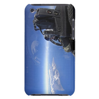 US Air Force captain looks out over the sky iPod Touch Case-Mate Case