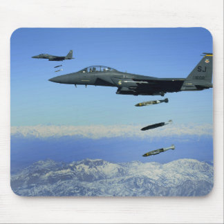 US Air Force F-15E Strike Eagle aircraft Mouse Pad