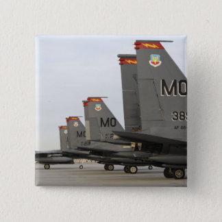 US Air Force F-15E Strike Eagles 15 Cm Square Badge