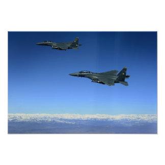 US Air Force F-15E Strike Eagles 2 Photo Print