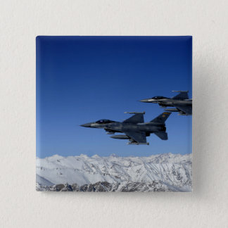 US Air Force F-16 Fighting Falcons 15 Cm Square Badge