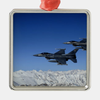 US Air Force F-16 Fighting Falcons Christmas Ornament