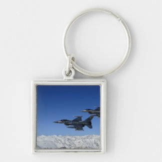 US Air Force F-16 Fighting Falcons Key Ring