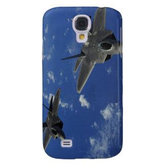 US Air Force F-22 Raptors in flight near Guam Galaxy S4 Case