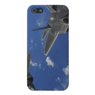 US Air Force F-22 Raptors in flight near Guam iPhone 5/5S Cases