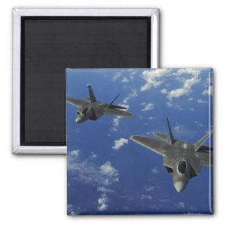 US Air Force F-22 Raptors in flight near Guam Magnet