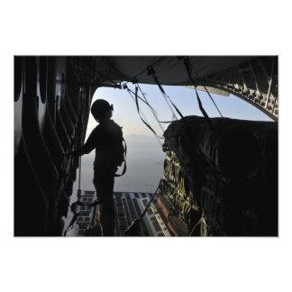 US Air Force loadmaster Photo Print