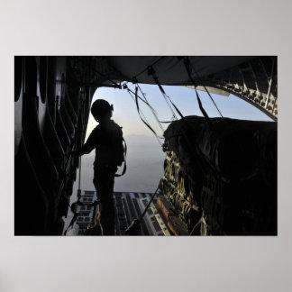 US Air Force loadmaster Print